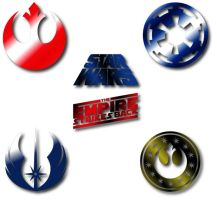Star Wars Logos by Dodgegirl32