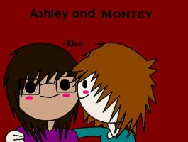 Me and Ashley by MonteyRoo