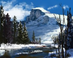 Halfdome by Chillalord