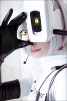 GLaDOS cosplay by Tenori-Tiger