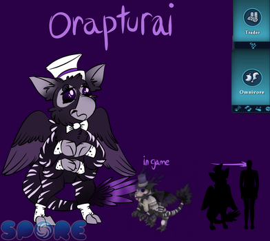 The Orapturai by GummiiBirdii