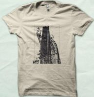 NYC aerodrome distressed tee by Serensdipity