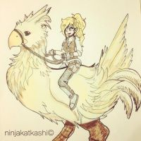 #BattleChicken by ninjakatkashi