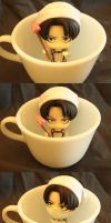 Levi In A Cup by CorporalConstipation