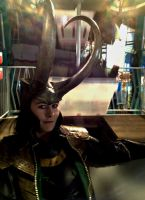 Loki- There's a seat here alongside me... by LaneDevlin
