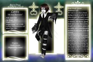 KH Application: The Feral Marionette by X-LaLa