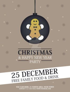 Christmas-Party-Flyer.. by Grafix-Drive