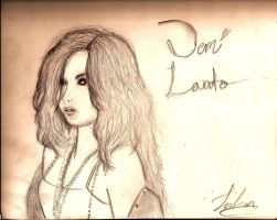 Demi Lovato by drawfreak-j