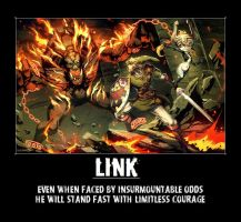 Link Motivational Poster by Demi-feind