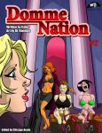 DOMME NATION #2 Cover Art by MTJpub