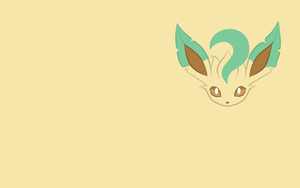 Leafeon Wallpaper by Banana-Bear