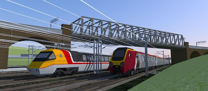 SketchUp High Speed Trains rendered in Kerkythea by ANDY1701A