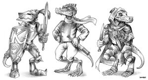 Kobold Spot Art by D-MAC