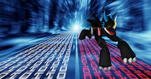 MMD Raidramon + DL by Valforwing