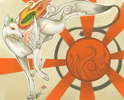 Okami - Here Comes the Sun by Keartricity