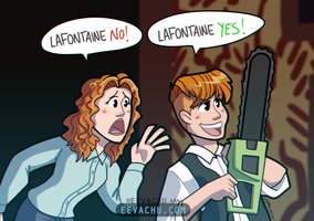 LAFONTAINE YES by Eevachu
