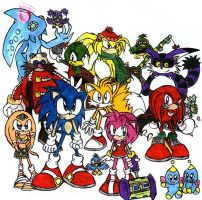 Sonic Group by CaribbeanPulse