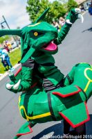 ColossalCon 2015 - Rayquaza by VideoGameStupid