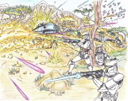 The Flames of the Clone War Mk II by Tribble-Industries
