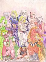 Final fantasy 4 by deleriumsedge