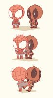 Spideypool127 by LKiKAi