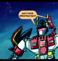 Superion Wants to Kick Aft by autobotchari