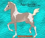 Silver Smoky Cream Tobiano- SS1 by SweetStreamStables