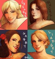 Ladies by Momo-Deary