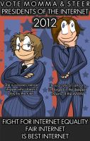 Presidents of the Internet by Nzabob