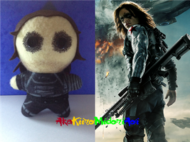 Marvel Plushes: Winter Soldier by AkaKiiroMidoriAoi