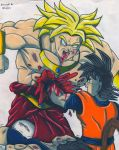 Goku to the rescue by cowcat44