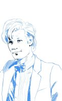 Eleventh Doctor sketch by JonathanWyke