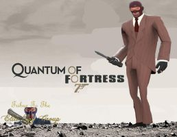 Quantum Of Fortress TF2 Spy by twistedagent