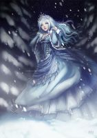 Snow Queen by anikakinka