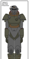 Fallout 2 BoS T-51b Armor by Milosh--Andrich