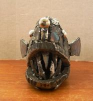 welded angler fish front by edstuff