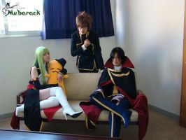 COde Geass Group by amykino