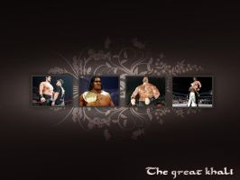 The great khali by palneera