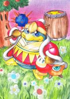 King Dedede by ravenoath