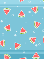Watermelon Party -wallpaper for iPad by sosogirl123