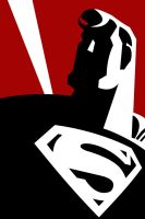 Superman by larsloenstrup