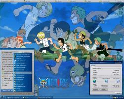 One Piece Desktop Screenshot by zerwell