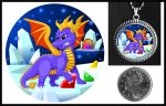 Spyro Necklace by iceSylum