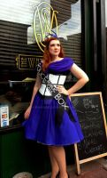TARDIS Dress by BenaeQuee