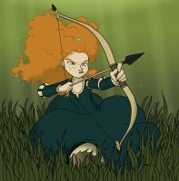 Trash the Princess - Merida by jbwarner86