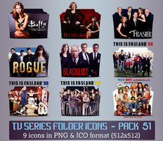 TV Series - Icon Pack 51 by apollojr