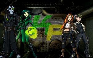 Kim Possible: Steampunk by jurneejakes