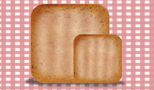 iOs Toast Icon by Jexyla