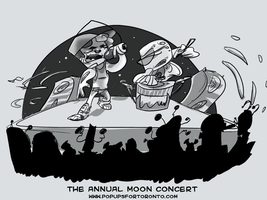 moon concert by luckyde