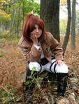 SnK - Resting on the job by MadameTerraLupus